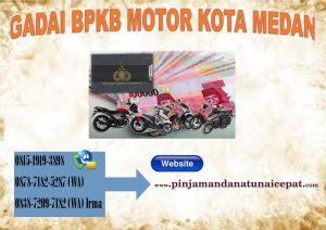 Gadai BPKb Motor Kota Medan
