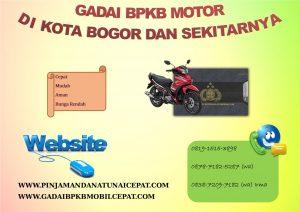 Gadai BPKB Motor Di Kta Bogor