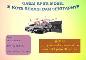 Gadai BPKB Motor Kota Bekasi