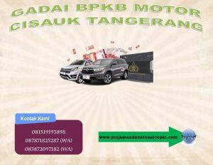 Gadai BPKB Motor Cisauk Tangerang