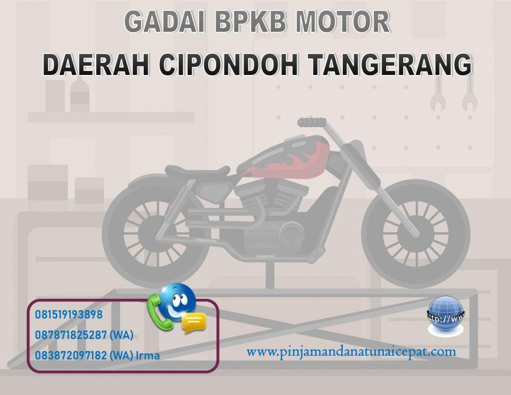 Gadai BPKB Motor Daerah Cipondoh Tangerang
