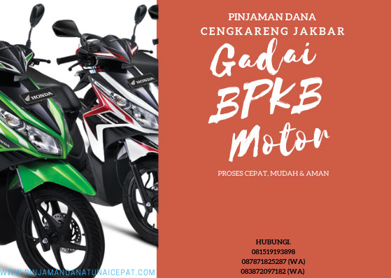 Gadai BPKB Motor Daerah Jakarta Barat