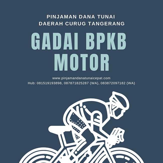 Gadai BPKB Motor Daerah Curug Tangerang