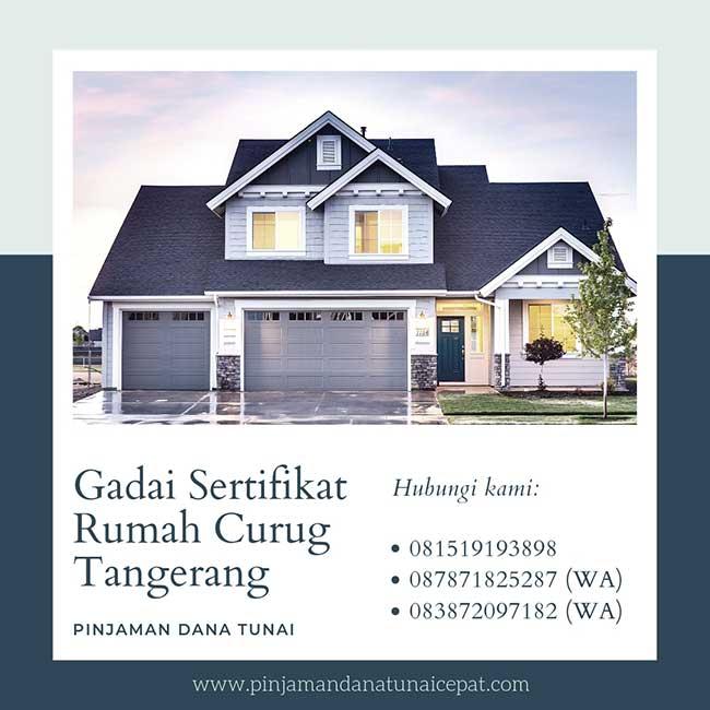 Gadai Sertifikat Rumah Daerah Curug Tangerang