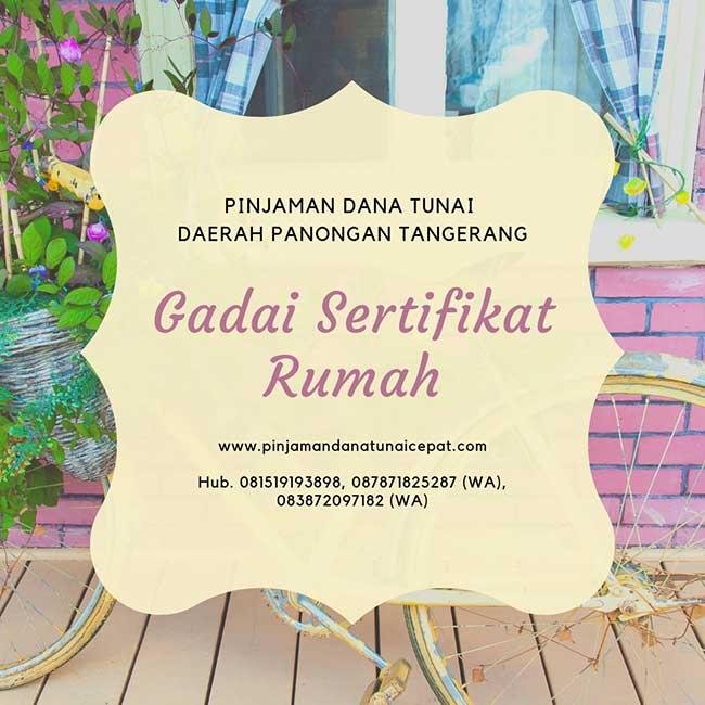 Gadai Sertifikat Daerah Panongan Tangerang