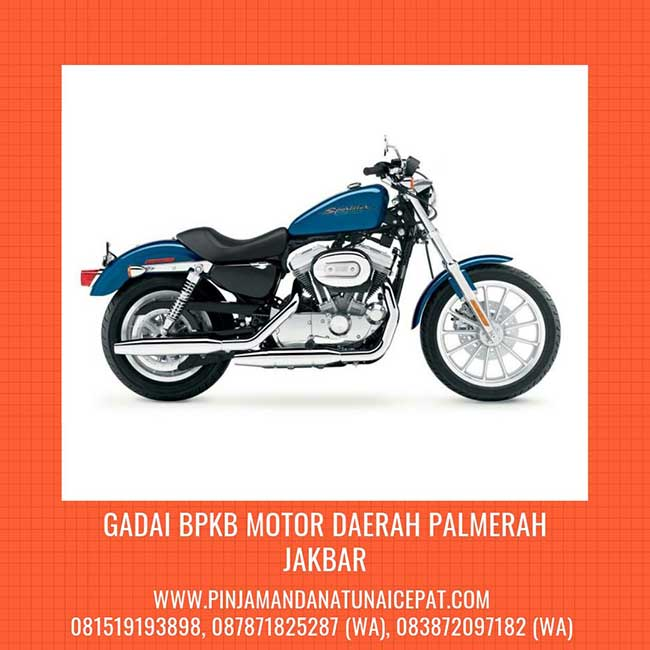 Gadai BPKB Motor Daerah Palmerah Jakarta Barat