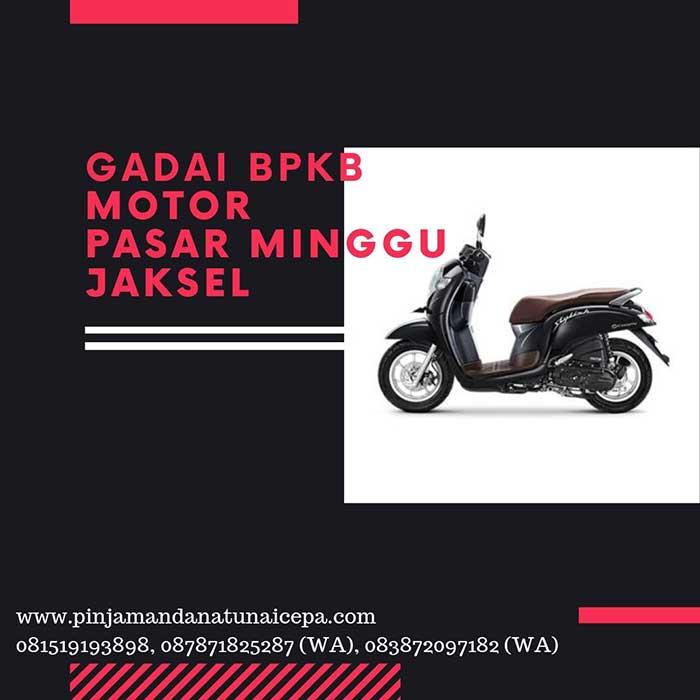 Gadai BPKB Motor Daerah Pasar Minggu Jakarta Selatan