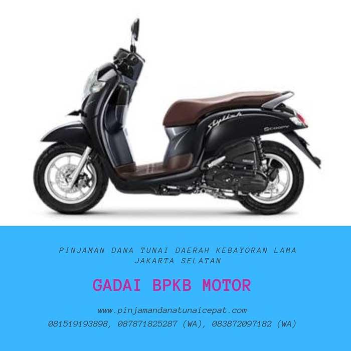 Gadai BPKB Motor Daerah Kebayoran Lama Jakarta Selatan