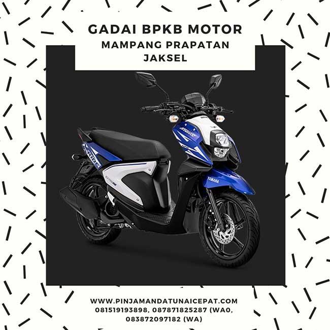 Gadai BPKB Motor Daerah Mampang Prapatan Jakarta Selatan