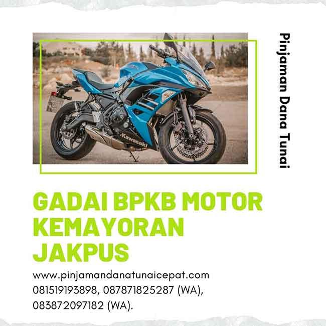 Gadai BPKB Motor Daerah Kemayoran Jakarta Pusat