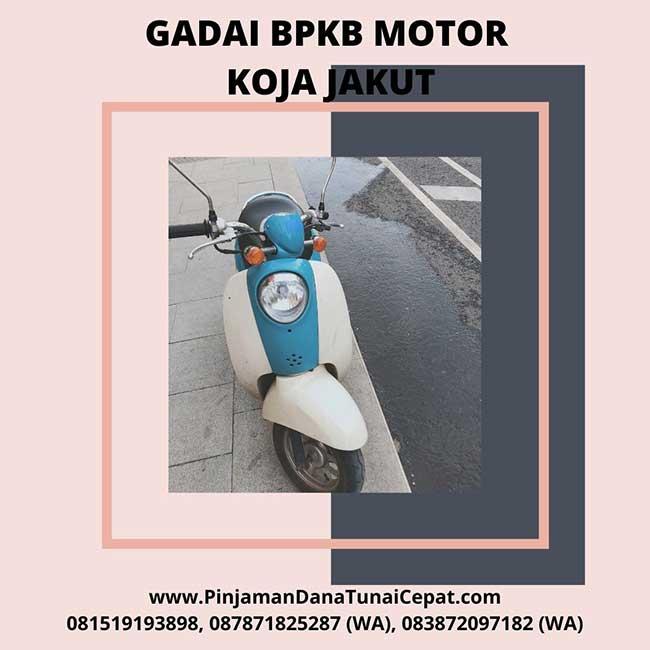 Gadai BPKB Motor Daerah Koja Jakarta Utara
