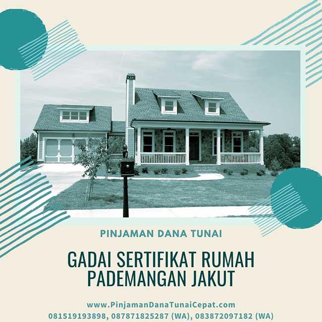 Gadai Sertifikat Rumah Daerah Pademangan Jakarta Utara