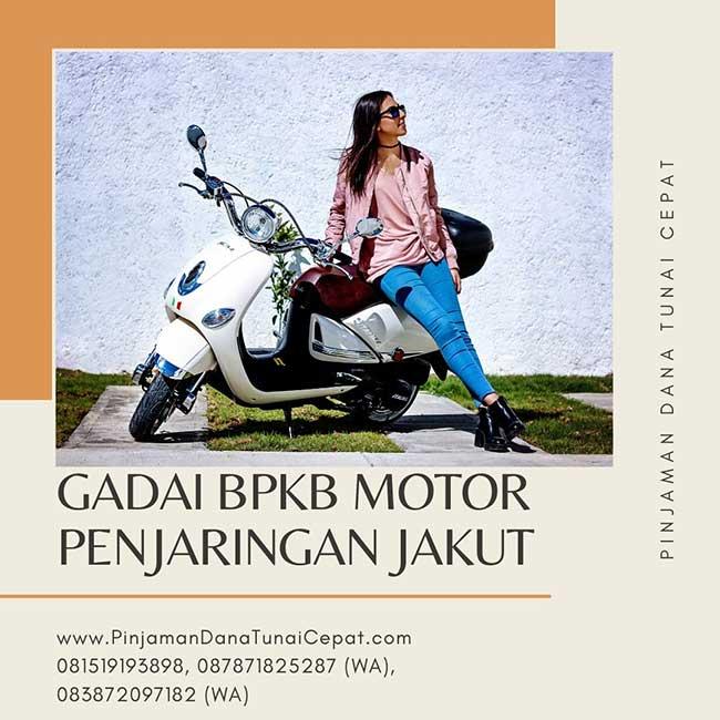 Gadai BPKB Motor Daerah Penjaringan Jakarta Utara