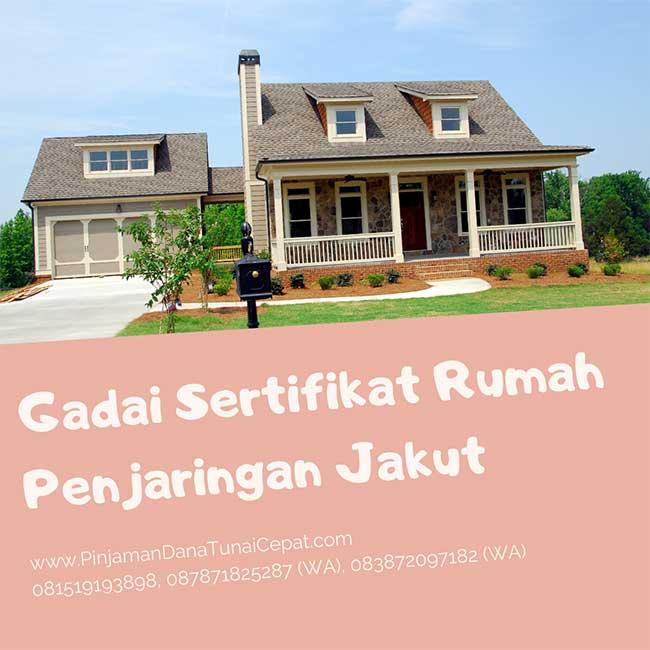 Gadai Sertifikat Rumah Daerah Penjaringan Jakarta Utara