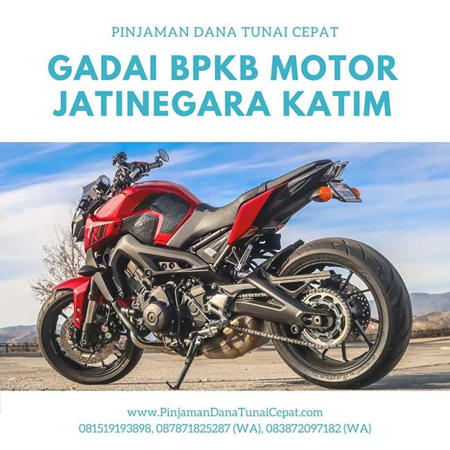 Gadai BPKB Motor Daerah Jatinegara Jakarta Timur
